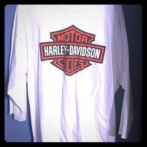 Classic Harley Davison vintage sleeve shirt Xl